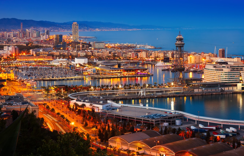 barcelona-skyline-puerto